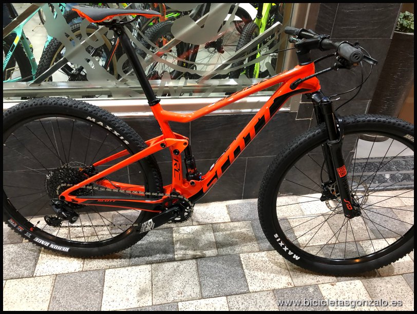 Bicicletta Scott Spark Rc 900 Team